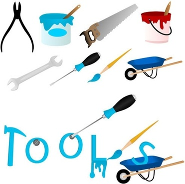maintenance tools 04 vector