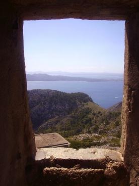 majorca landscape door