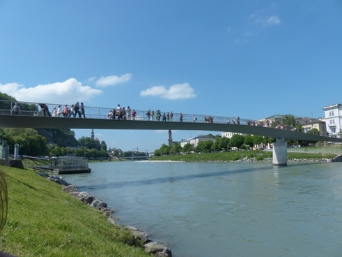 makartsteg bridge pedestrian bridge