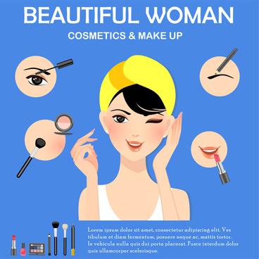 makeup woman tool