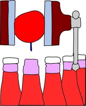 Making Ketchup clip art