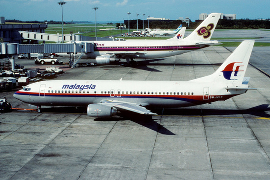 malaysia airlines boeing 737 4s3 9m mlb november 1990 chv