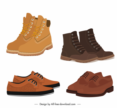 male fashion shoes icons elegant brown leather decor