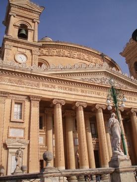 malta cathedral dome