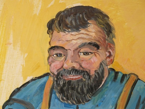 man face drawing