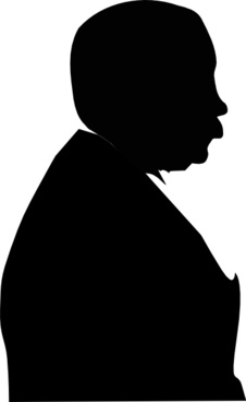 Man From Side clip art