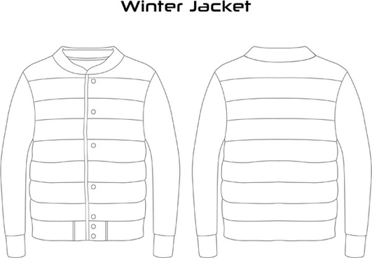 man winter jacket