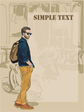 86d53f53 Vector man boy fashion free vector download (8,805 Free vector) for ...