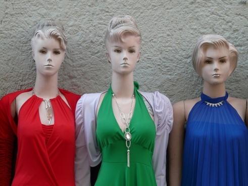 mannequins dolls face
