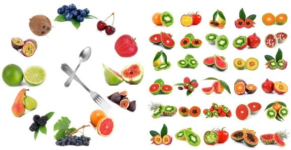 many fruits and highdefinition picture