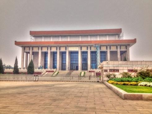mao zedong memorial in beijing china