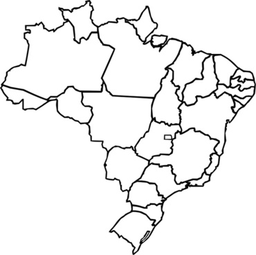 Brazil map free vector download 2559 free vector for commercial map of brazil gumiabroncs Image collections