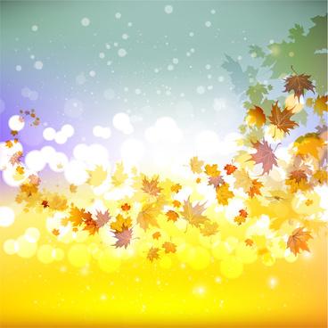maple leaf fall background