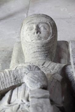 marble effigy