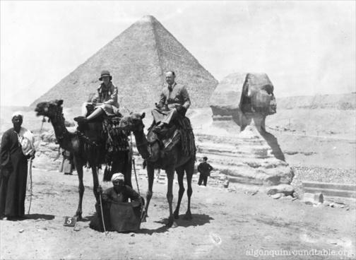 margaret leech amp ralph pulitzer visit the sphinx