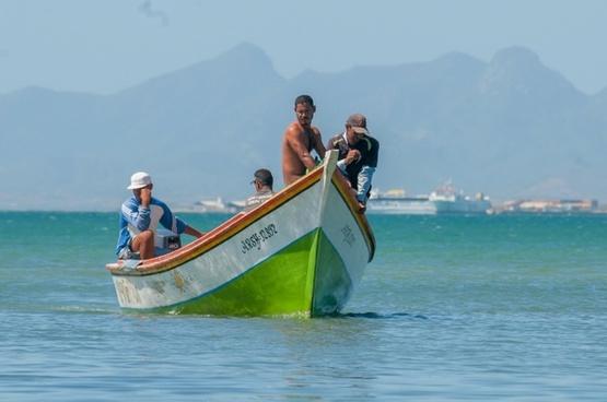 margarita island fishermen boat