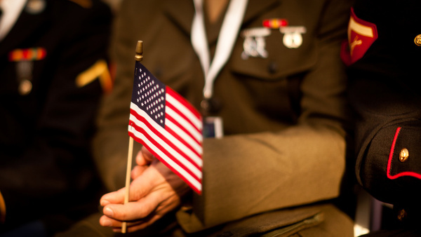 marine becomes citizen at statue of liberty ceremony