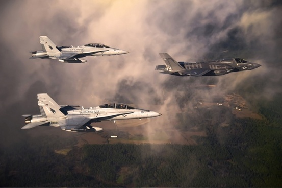 marine corps fighter jets sky