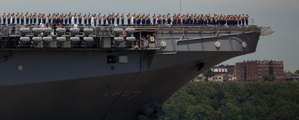 marines have landed fleet week new york 2011 begins