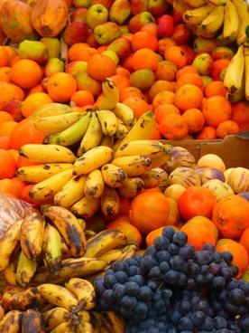 mark fruit bananas
