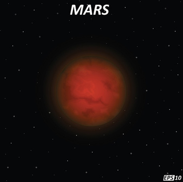 mars art background vector