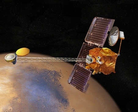 mars odyssey space