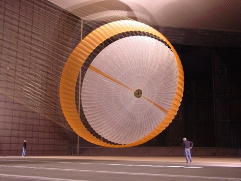 mars rover parachute large