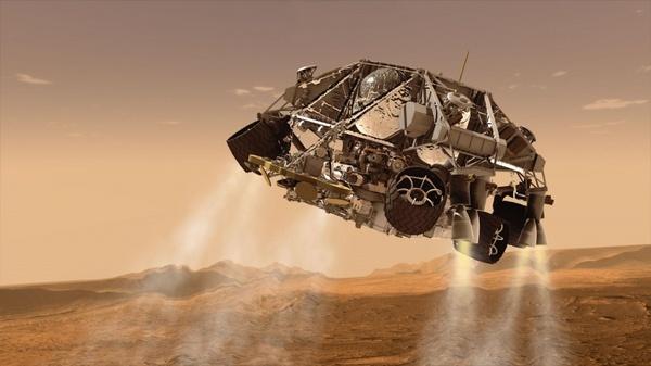mars rover spaceship