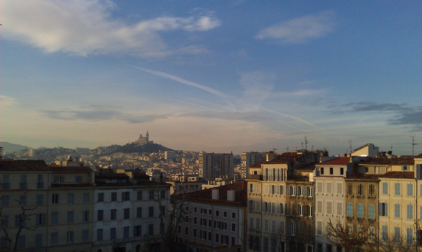 marseille from st charles
