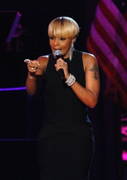 mary j  blige singer entertainer
