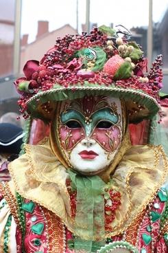 mask carnival decoration
