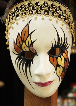 mask decoration face