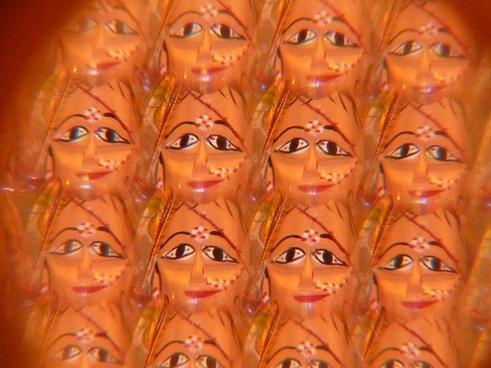 mask face kaleidoscope