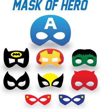 mask of super hero