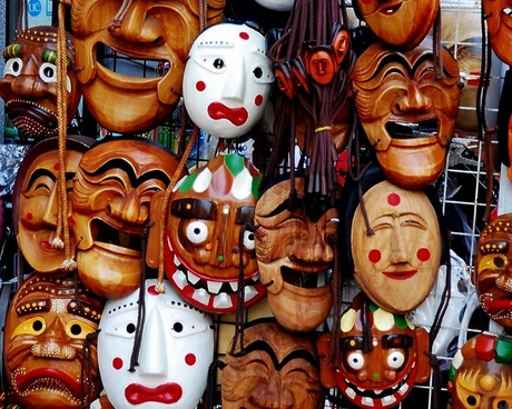 mask wooden wood