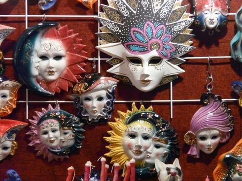 masks carnival panel