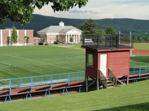 massachusetts school athletic field
