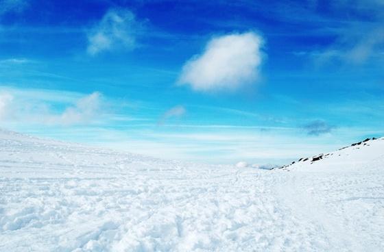 matagalls snow mountains