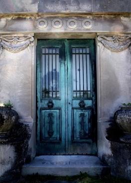 mausoleum door entrance