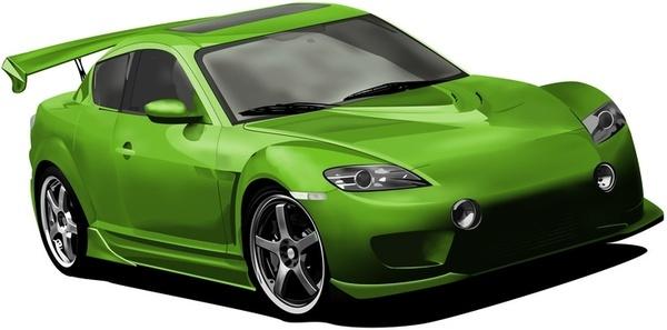 Mazda RX8 - meshing it up