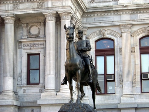 mcclellan statue