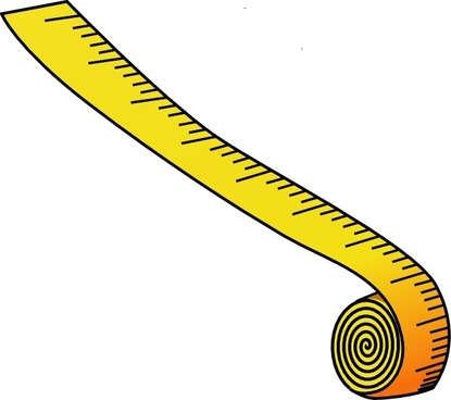 Measuring Tape clip art