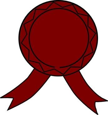 Medallion Award clip art