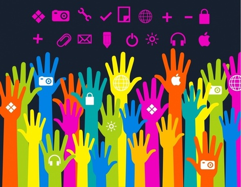 Media hands