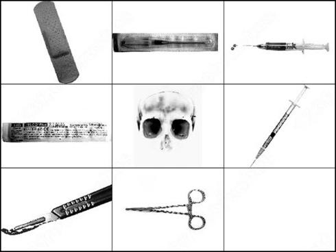 medical stuff brush