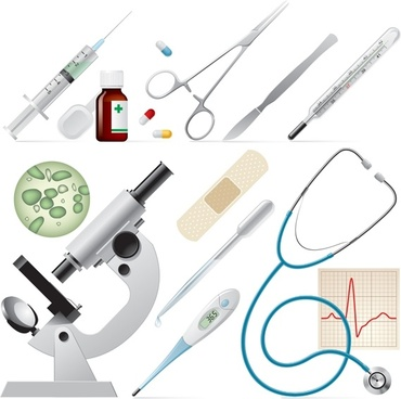 medical supplies icon vector