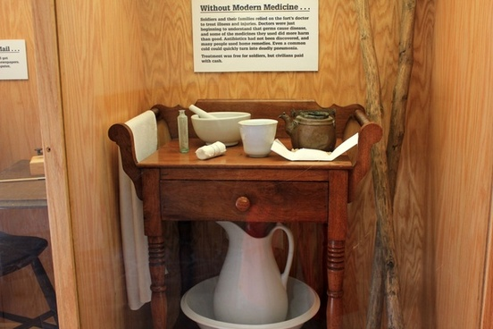medicine table at fort wilkens state park michigan