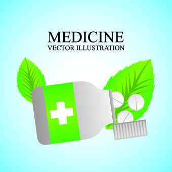 medicine vector background illustration