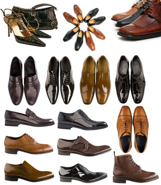 men39s shoes and sachet highdefinition picture