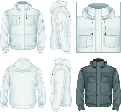 Vector clothes hoodie template free vector download (14,623 Free ...